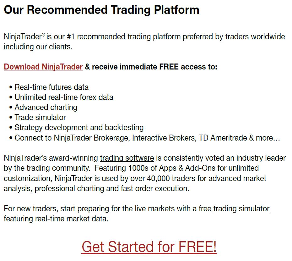 NinjaTrader Indicators and Trading - Back To The Future Trading